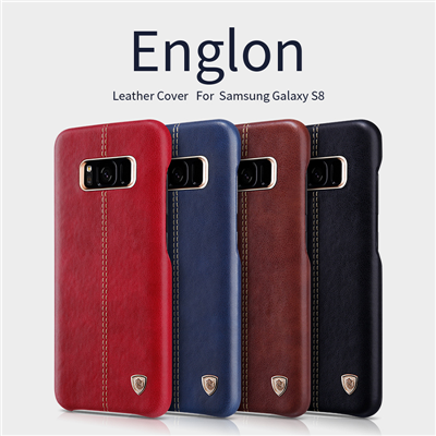Ốp lưng da Galaxy S8 Plus hiệu Nillkin Englon Leather